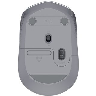 MOUSE LOGITECH M170 WIRELESS SILVER BLISTER 10MTS 910-005334 - tienda online