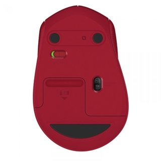 MOUSE LOGITECH M280 WIRELESS 1000 DPI RED 910-004286 - tienda online