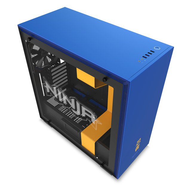 GABINETE NZXT H700i NINJA MIDTOWER TEMPERED GLASS FAN X4 - comprar online