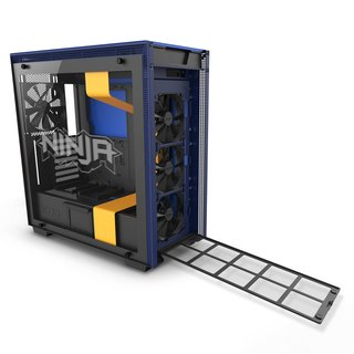 GABINETE NZXT H700i NINJA MIDTOWER TEMPERED GLASS FAN X4 - tienda online