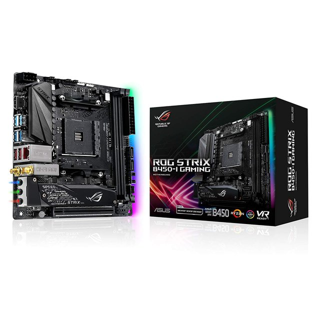 MOTHERBOARD ASUS ROG STRIX B450-I GAMING AM4
