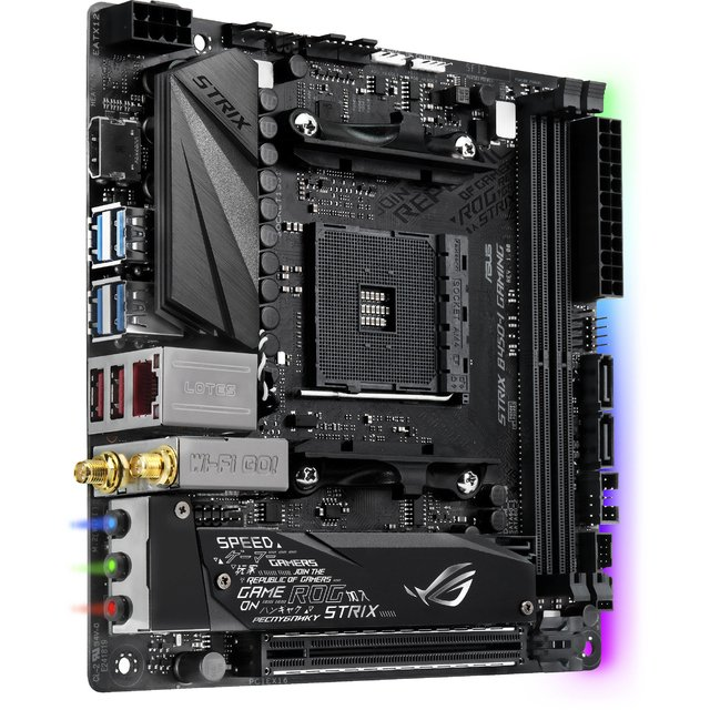 MOTHERBOARD ASUS ROG STRIX B450-I GAMING AM4 - comprar online