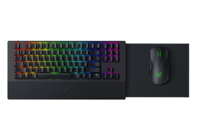 COMBO TECLADO MOUSE PAD RAZER TURRET FOR XBOX ONE BUNDLE