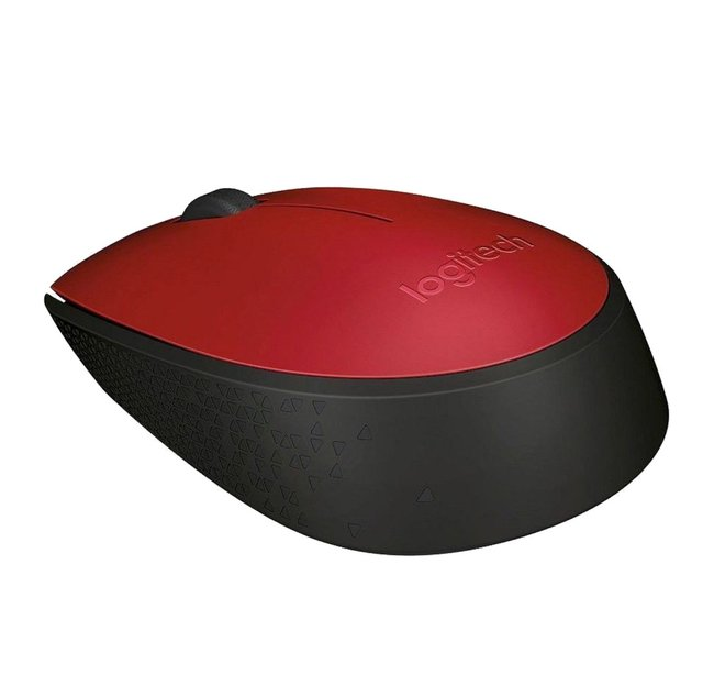 MOUSE LOGITECH M170 RED WIRELESS 1 PILA AA 10MTS 910-004941 en internet