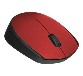 MOUSE LOGITECH M170 RED WIRELESS 1 PILA AA 10MTS 910-004941 - Exxa Store