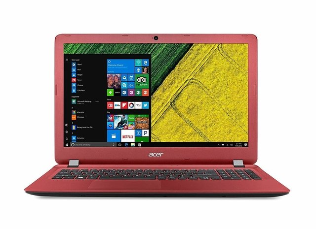 NOTEBOOK ACER ASPIRE 3 INTEL I3-7130U 4GB 1TB ROJA WIN 10H