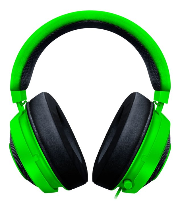 AURICULARES RAZER KRAKEN PC PS4 XBOX MOBILE CON CABLE GREEN - comprar online
