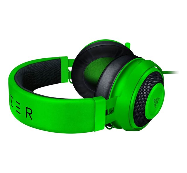 AURICULARES RAZER KRAKEN PC PS4 XBOX MOBILE CON CABLE GREEN - Exxa Store
