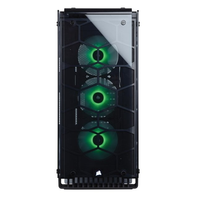 GABINETE CORSAIR CRYSTAL 570X RGB ALUMINIUM MID TOWER FAN X3 en internet