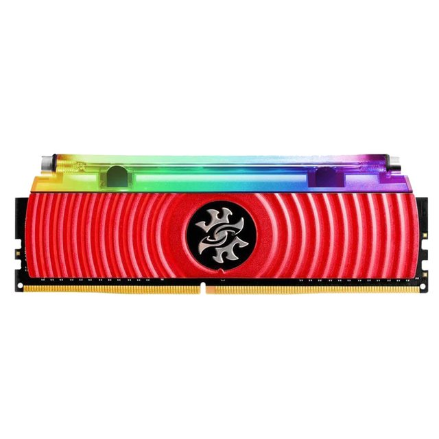 MEMORIA ADATA 8GB DDR4 3000MHZ XPG SPECTRIX D80 RGB RED en internet