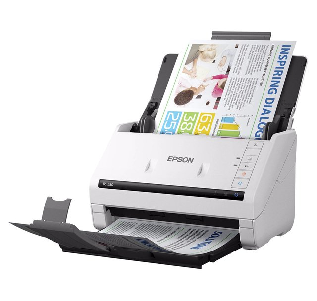 ESCANER EPSON WORKFORCE DS-530 35 PPM 600 DPI DUPLEX