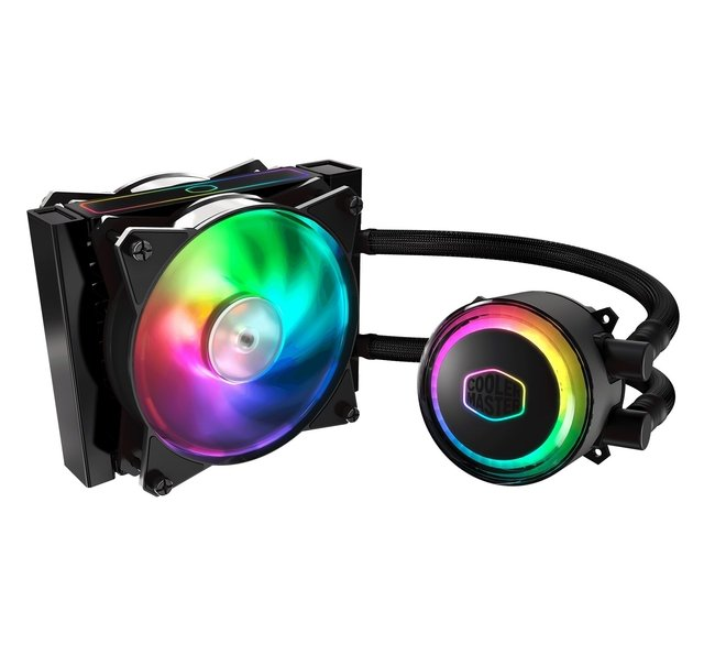 WATERCOOLING COOLER MASTER MASTERLIQUID ML120RS RGB 66.7 CFM - Exxa Store