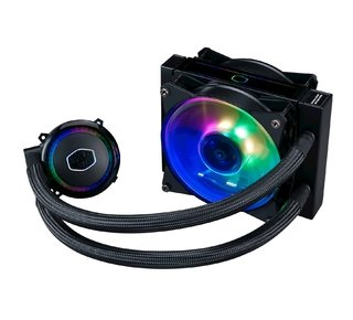 Imagen de WATERCOOLING COOLER MASTER MASTERLIQUID ML120RS RGB 66.7 CFM