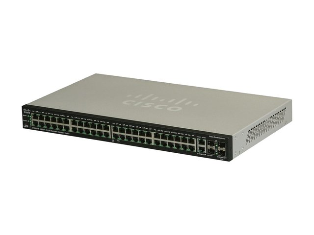 SWITCH CISCO 48P SF500-48 10/100 MANAGED RACK 1U 4X SFP