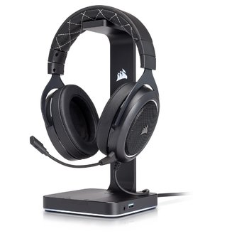 Imagen de AURICULARES CORSAIR HS60 GAMING WHITE PC CELULAR PS4 XBOX