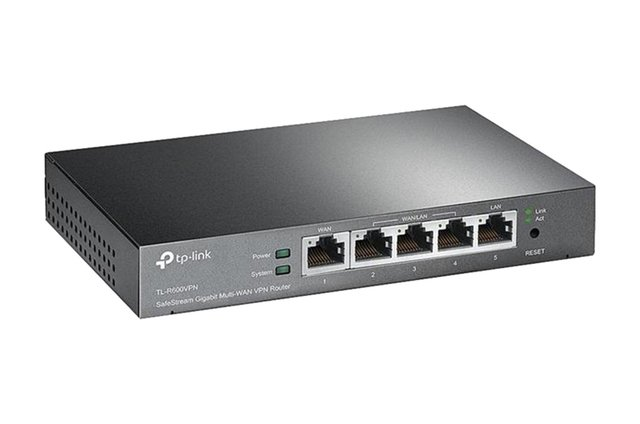 ROUTER 4P TP-LINK TL-R600VPN+ GIGABIT VPN SAFESTREAM F.WALL