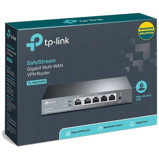 Imagen de ROUTER 4P TP-LINK TL-R600VPN+ GIGABIT VPN SAFESTREAM F.WALL