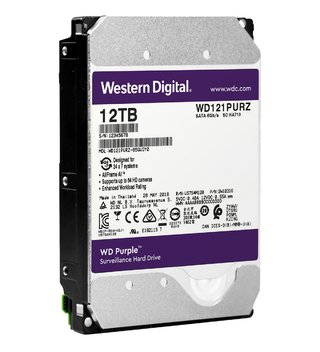 DISCO RIGIDO 12TB WD PURPLE 256MB 7200RPM 3.5 SATA en internet