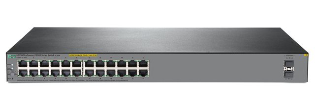 SWITCH HPE 24P OFFICECONNECT 1920S-24G POE+ 370W 52GBPS - Exxa Store