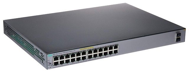 SWITCH HPE 24P OFFICECONNECT 1920S-24G POE+ 370W 52GBPS - tienda online
