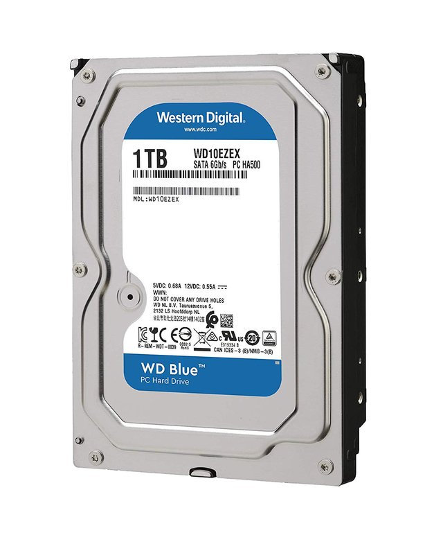 DISCO RIGIDO 1TB CAVIAR WD BLUE SATA 6GB/S 7200RPM 64MB en internet