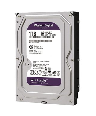 DISCO RIGIDO 1TB WD PURPLE SATA3 6GB/S 64MB 3.5 5400RPM en internet