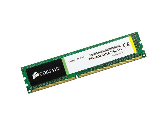 MEMORIA CORSAIR 8GB DDR3 1600MHZ VALUESELECT 11-11-11-30