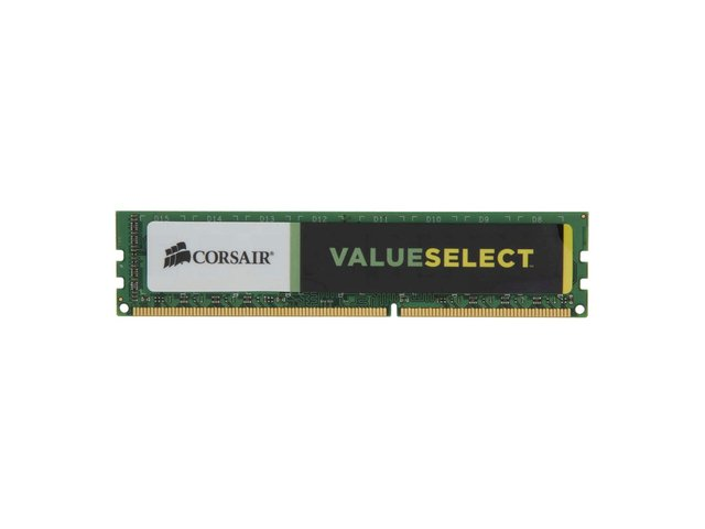 MEMORIA CORSAIR 8GB DDR3 1600MHZ VALUESELECT 11-11-11-30 en internet