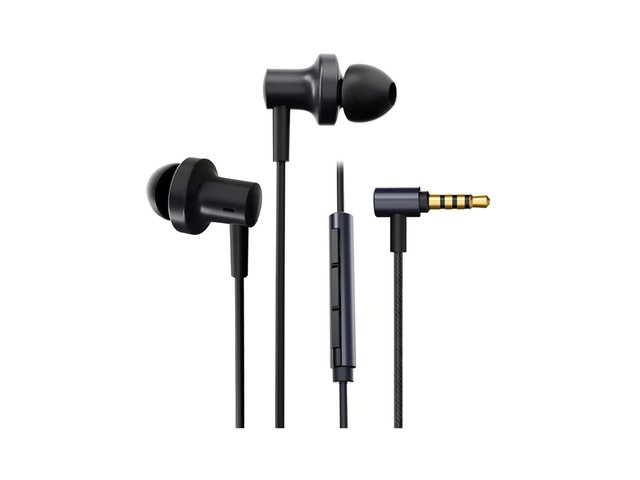 AURICULARES XIAOMI MI IN-EAR NOISE ANC BLACK 3.5MM CABLE - tienda online