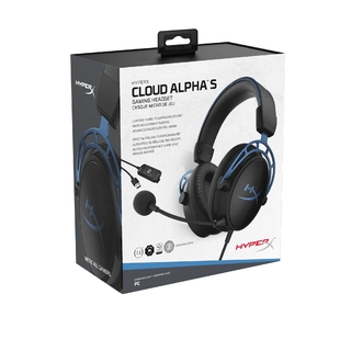 AURICULARES HYPERX CLOUD ALPHA S 7.1 VIRTUAL AZUL CABLE 1M - Exxa Store