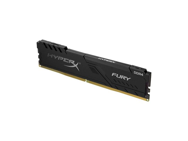 MEMORIA KINGSTON 4GB DDR4 2666MHZ HYPERX FURY BLACK CL16 - tienda online