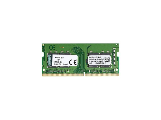 Imagen de MEMORIA KINGSTON SODIMM 8GB DDR4 2400MHZ KVR CL17