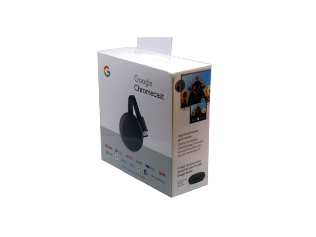 GOOGLE CHROMECAST 3 SMART TV USB GA00439-US - tienda online