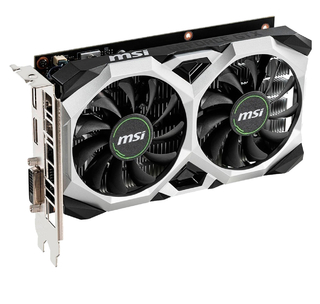 PLACA DE VIDEO MSI GTX 1650 SUPER VENTUS XS 4GB OC GDDR6 - comprar online