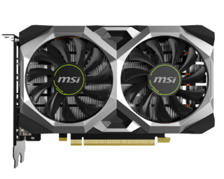 PLACA DE VIDEO MSI GTX 1650 SUPER VENTUS XS 4GB OC GDDR6 - tienda online