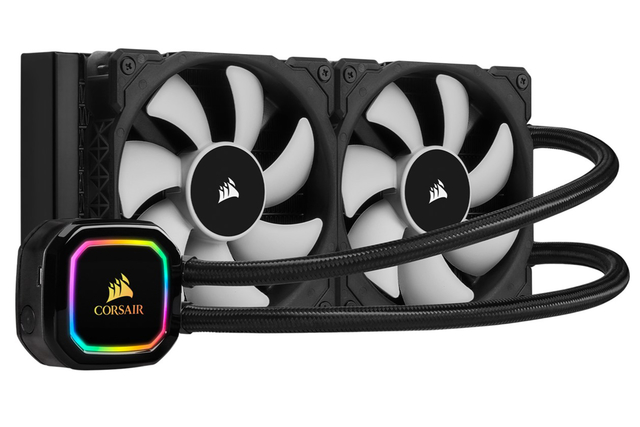 WATER COOLING CPU CORSAIR H100I RGB PRO XT ICUE NEGRO 240MM