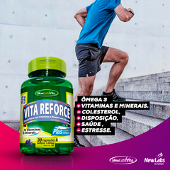 Vita Reforce Plus - 30 Cáps - 1000 mg (New Labs Vita)