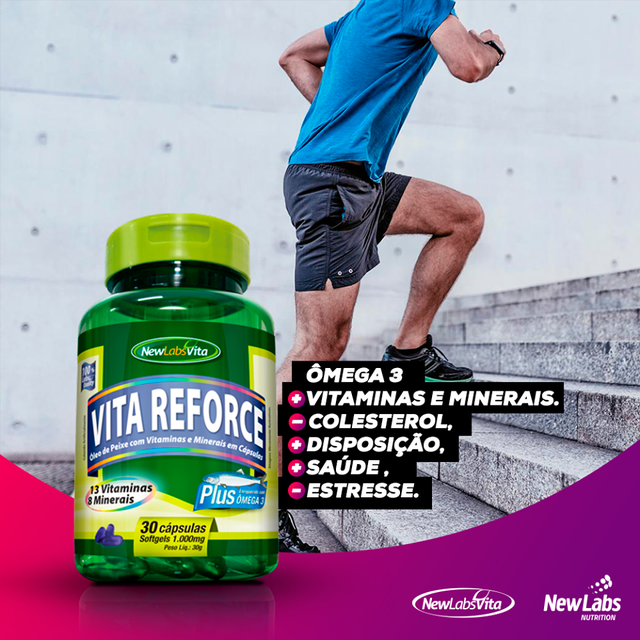 Vita Reforce Plus - 30 Cáps - 1000 mg (New Labs Vita) - comprar online