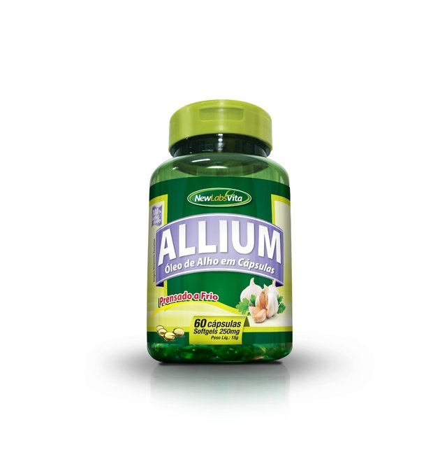 Allium - 60 Cáps. - 250mg (New Labs Vita)