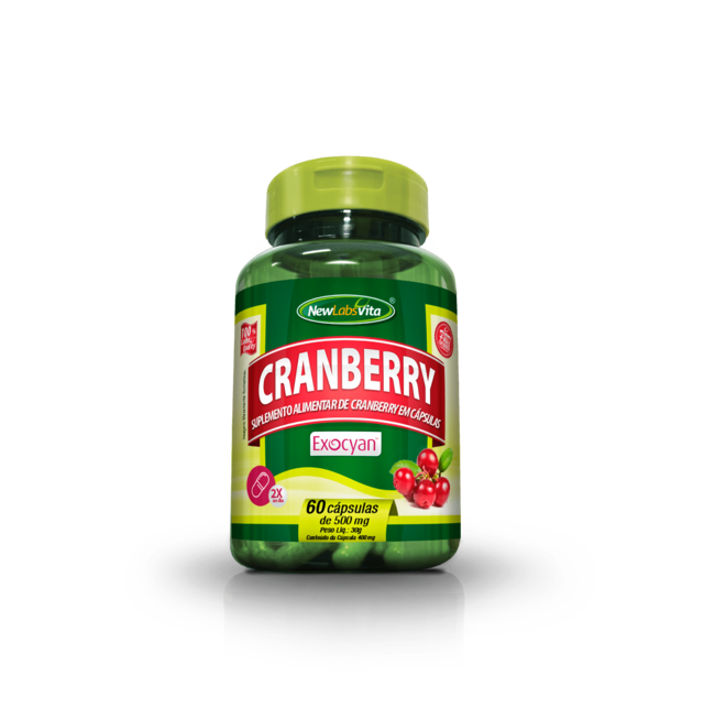 Cranberry - 60 cáps. - 500mg (New Labs Vita)