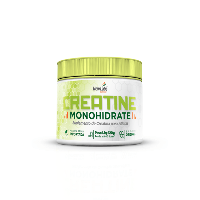 Creatine Monohidrate - 120g (New Labs Nutrition)