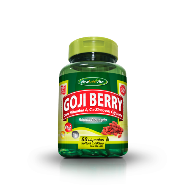Goji Berry - 60 cáps. - 1000mg (New Labs Vita)