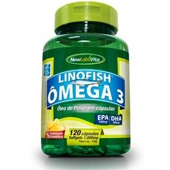 LinoFish Ômega 3 - 1000mg (New Labs Vita)