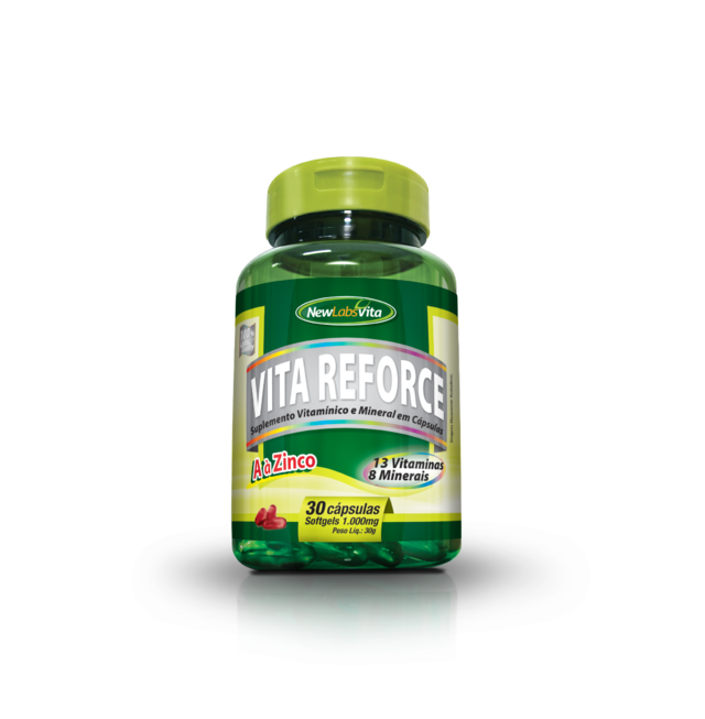 Vita Reforce - 30 Cáps - 1000 mg (New Labs Vita)