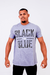 Camiseta Black Blue Shadow
