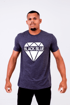 Camiseta Black Blue Diamante