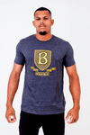 Camiseta Black Blue Escudo