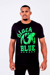 Camiseta Black Blue Broken