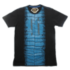 Camiseta Black Blue Carpas Inversa