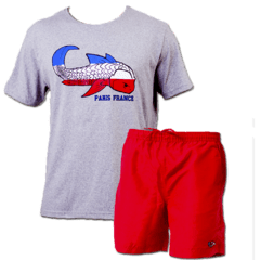 Kit Camiseta Paris + Boardshort